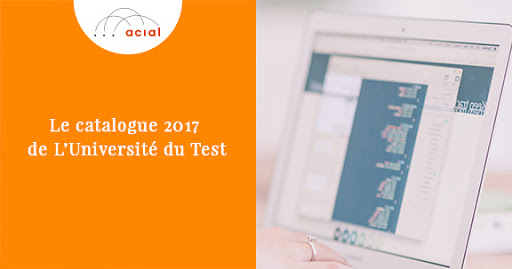 le catalogue 2017 de l u0026 39 universit u00e9 du test